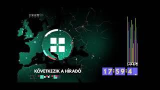 (hang nélkül) RTL Klub - órareklám és híradó főcím - 2021. február 24.