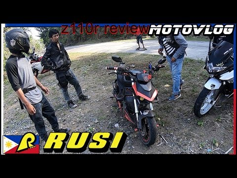 Z110r Ride And Review - Custom Rusi Mojo
