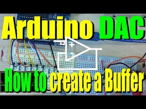 Arduino DAC 2:  OpAmp Buffer