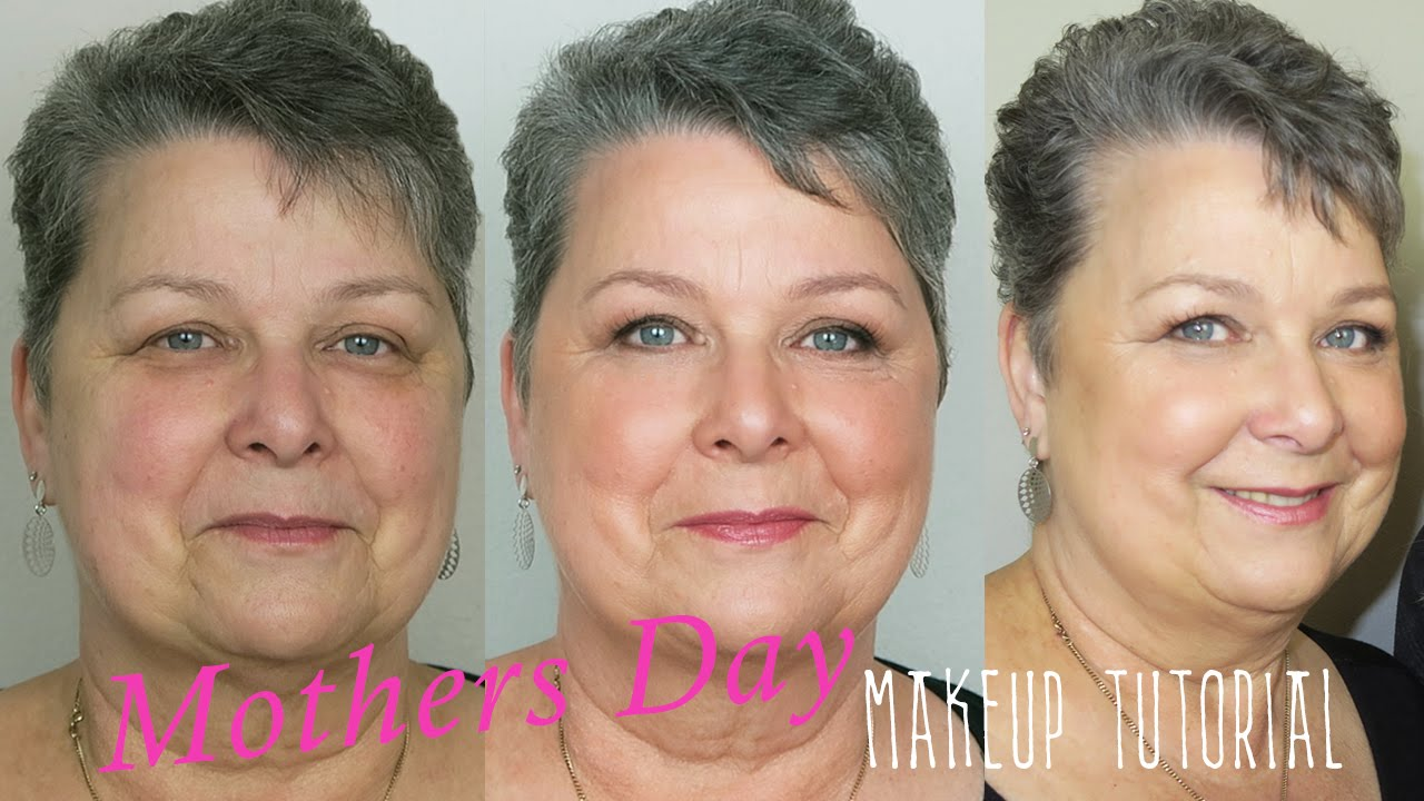 Mothers Day Makeup Tutorial For Mature Skin Foundation Contour
