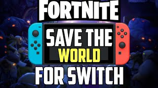 Fortnite Save The World Notendo Switch The Sad Truth About Fortnite Save The World For Nintendo Switch Youtube