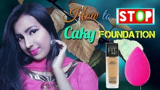 How To Stop Cakey Foundation || Tips And Tricks HD_720pix [Hindi].