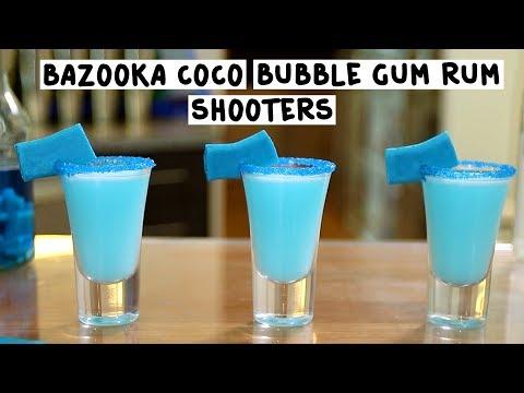Bazooka Coco Bubble Gum Rum Shooters