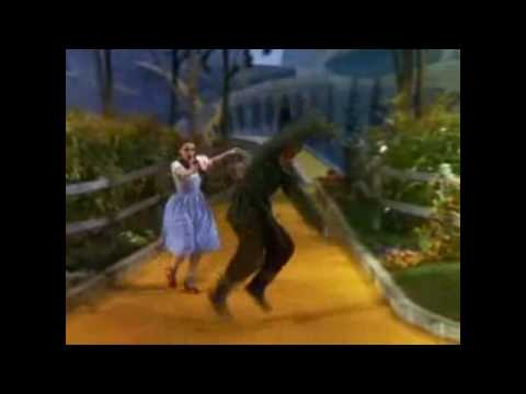 JUDY GARLAND: DELETED SCARECROW DANCE WITH RAY BOLGER, THE WIZARD OF OZ 1939