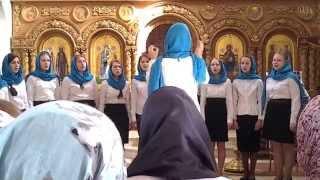 Церковный хор православного детского приюта Покров