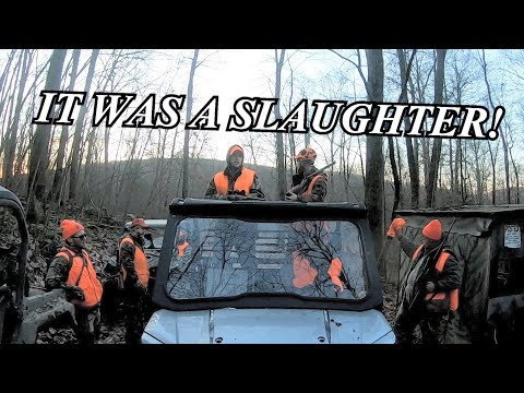 A Murder Scene During Pennsylvania Rifle Season!