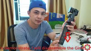 DIY3: Reparatur Gymbal Zhiyun Smooth Q Batterie Problem | Suchen Sie nach echten oder gefälschten Waren