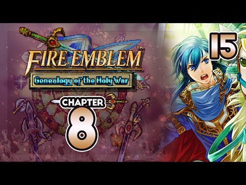 """Part 15: Let's Play Fire Emblem 4, Genealogy Of The Holy War, Gen 2, Chapter 8 - """"Enter Thracia"""""""