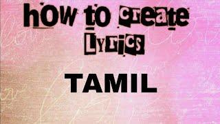how to lyrics video in kinemaster in tamil kind master  sm works