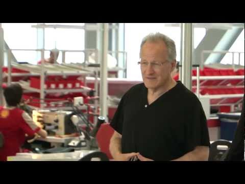 A morning in Maranello for Michael Mann