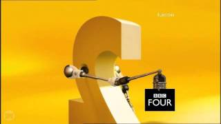 BBC Two ident 2001 to 2007 - BBC Four on BBC Two
