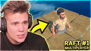 MORSKI MINECRAFT WRACA!  - Raft COOP #1