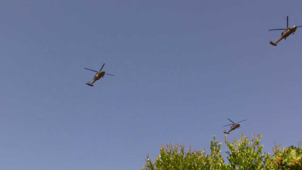 Military Over Are My Helicopters Flying House Why