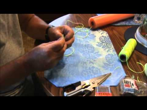 How to make a fishing noodle youtube for How to make fishing noodles