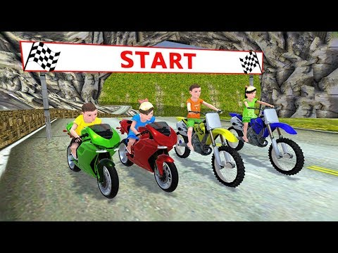 Kids MotorBike Rider Race 2 (by KidRoider) Android Gameplay [HD]