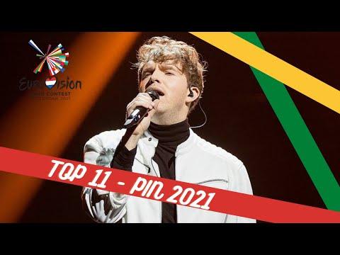 TOP 11   PABANDOM I? NAUJO 2021 (PiN 2021)   EUROVISION 2021   LITHUANIA ??