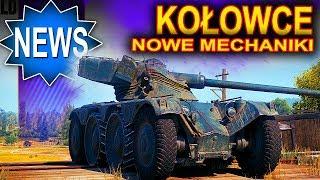 Kołowce - drzewko, mechaniki, zmiany - World of Tanks