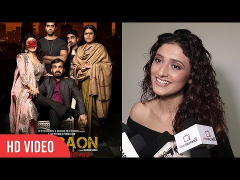 Ragini Khanna Reaction On Scratch On the Poster Of Movie Gurgaon