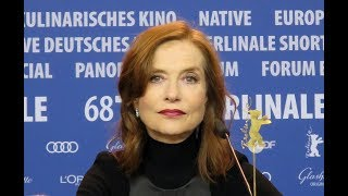 Berlinale 2018 - Isabelle Huppert
