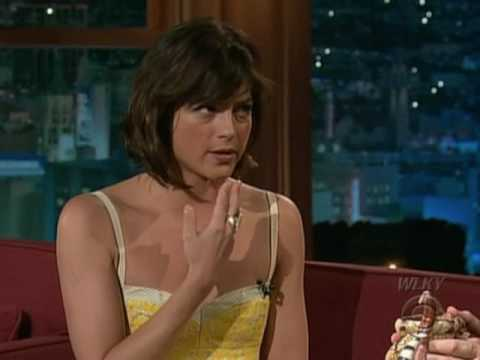 Selma Blair on Craig Ferguson 2009.07.13 HQ