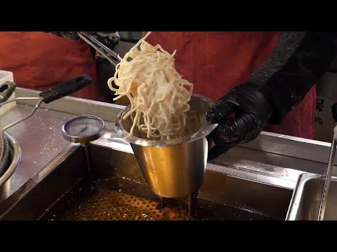 진미채 치즈 오징어 튀김 / fried cheese squid / korean street food