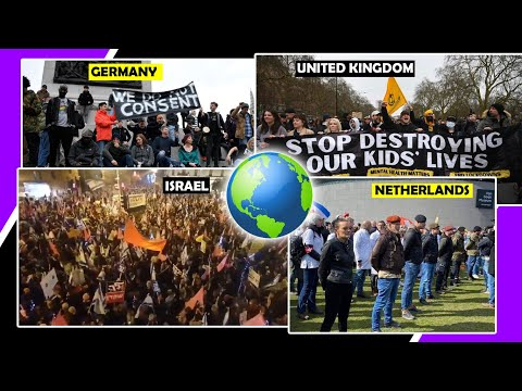 ANTI LOCKDOWN PROTESTS  ALL AROUND THE WORLD