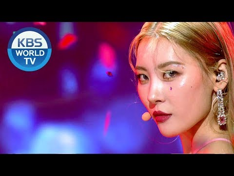 SUNMI - Siren | 선미 - 사이렌 [Music Bank Hot Stage / 2018.09.21]