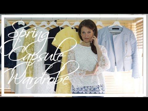 SPRING CAPSULE WARDROBE 2018   Fashion Over 40
