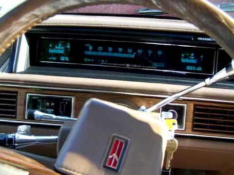 1988 Olsmobile Regency Brougham Ninety Eight Touring Sedan