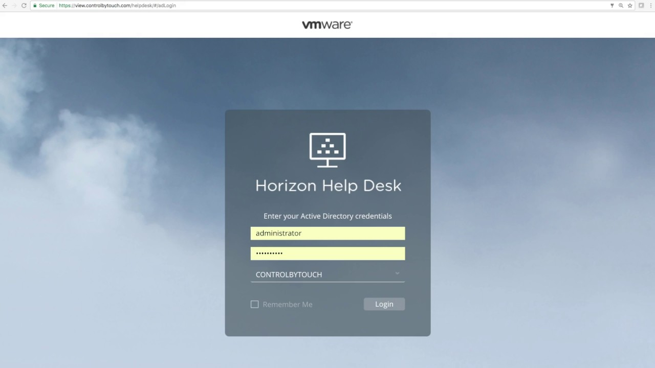 VMware Horizon 7 v7 2: Help Desk Tool - Feature Walk-through | Video