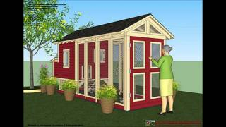 Chicken coop plans to build a backyard chicken coop in Australia