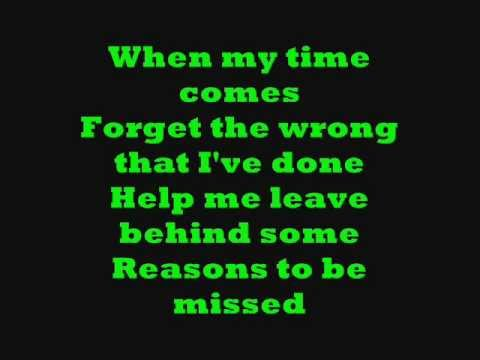 Leave Out All The Rest by Linkin Park [LYRICS ON SCREN!]