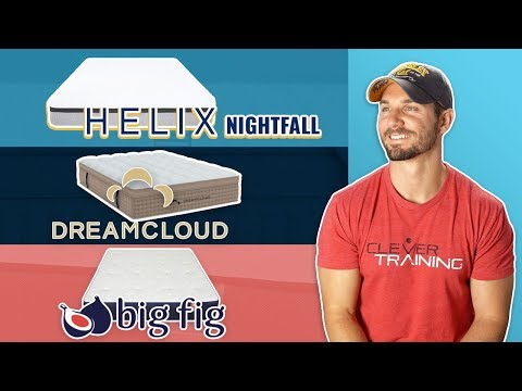Big Fig vs DreamCloud vs Helix Nightfall Plus (Review For Heavy People)