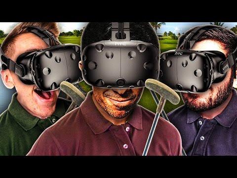 THREE PLAYER VR GOLF! - CLOUDLANDS VR MINIGOLF (HTC VIVE)