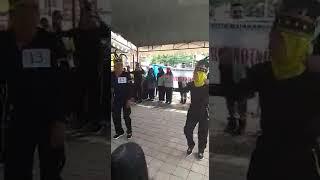 Puskesmas Pejeruk Kota Mataram Senam kreasi Hip Hop dlm rangka HKN ke 53