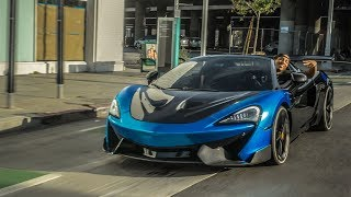 THE FIRST DRIVE IN MY MCLAREN! *AFTER CAR ACCIDENT*