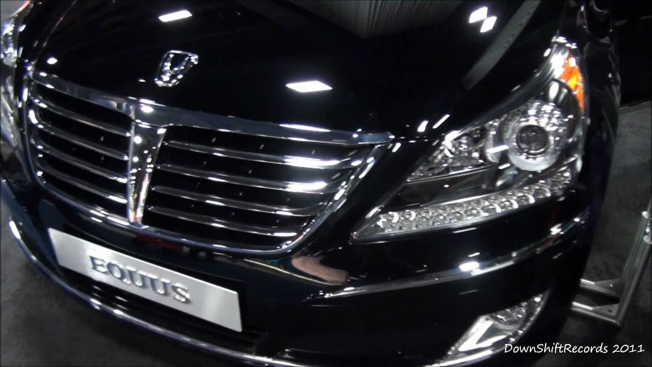 2011 Hyundai Equus At 2011 Washington D C Auto Show Youtube