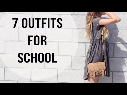 7 Outfit Ideas for School & different fashion styles | lindseyrem