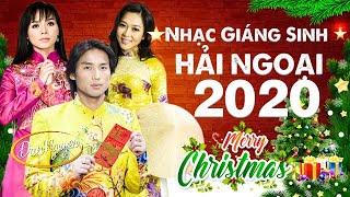 Nhạc Noel Hải ngoại 2020 - LK Giáng Sinh Hay Nhất Tiếng Hát ĐAN NGUYÊN, HÀ THANH XUÂN, BĂNG TÂM