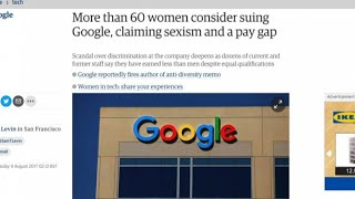 Sessanta donne pronte a far causa a Google per sessismo