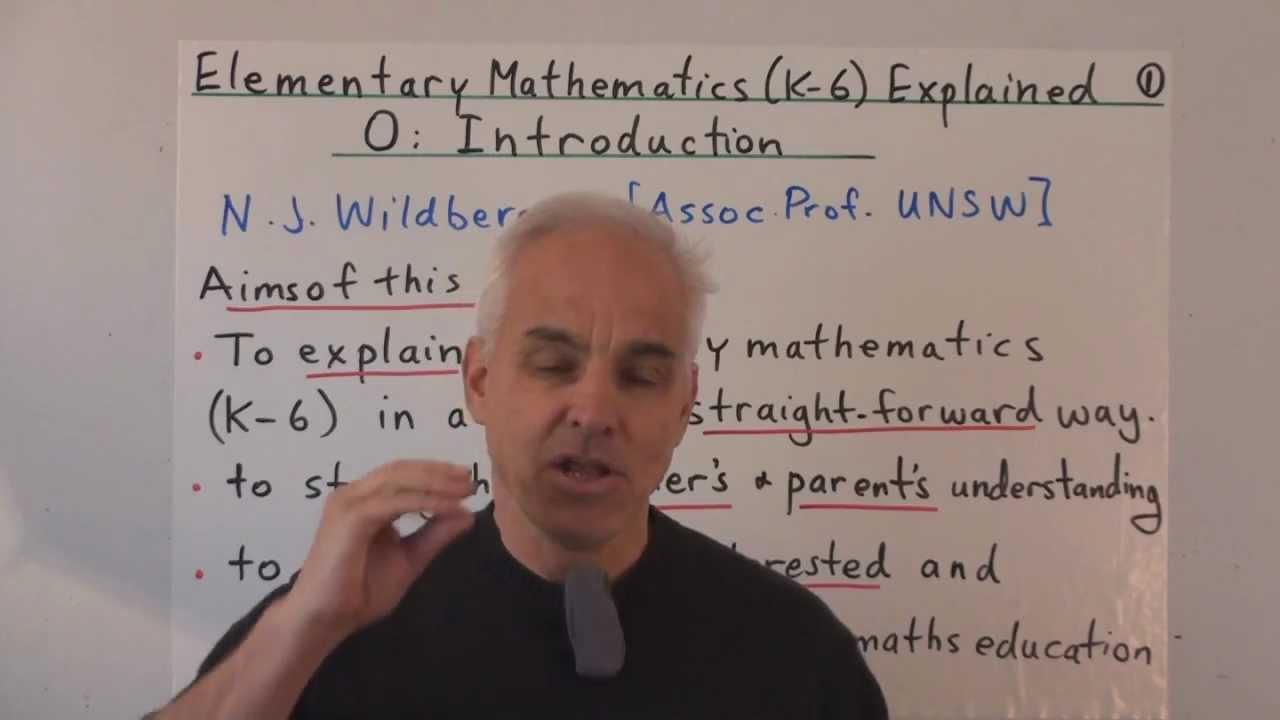 Introduction   Elementary Mathematics (K-6) Explained 0   NJ ...
