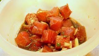 Oyster Sauce Ahi (yellowfin Tuna) Poke