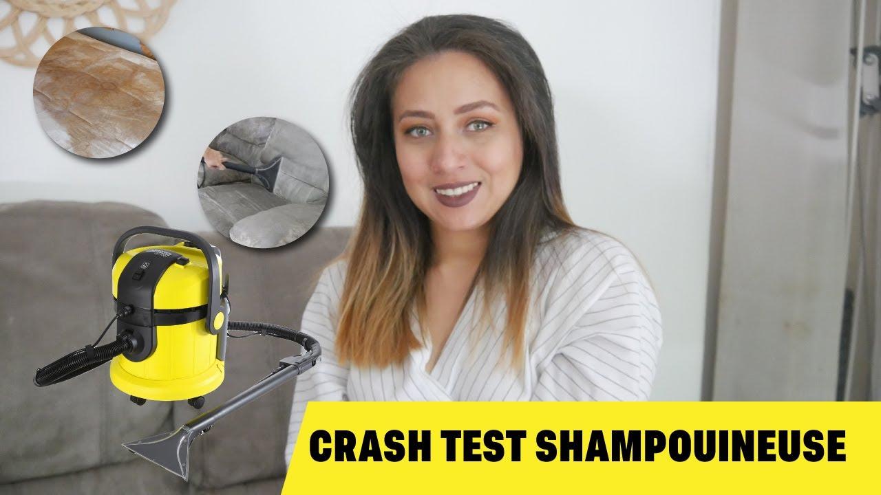 Crash Test Shampouineuse Karcher Se4001 Youtube