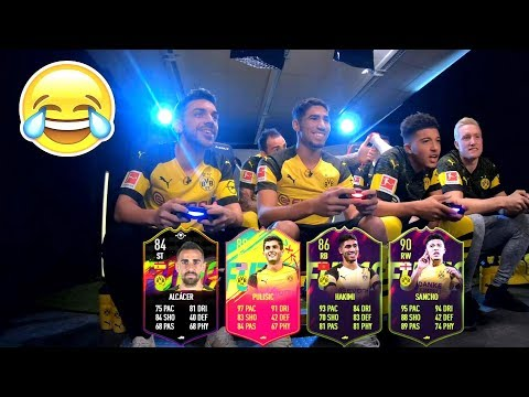 TORNEO FIFA 19 con el BORUSSIA DORTMUND (MUCHAS RISAS) thumbnail