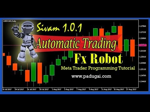 Forex Robot Programming Basic Data Input Tutorial in Tamil - 2
