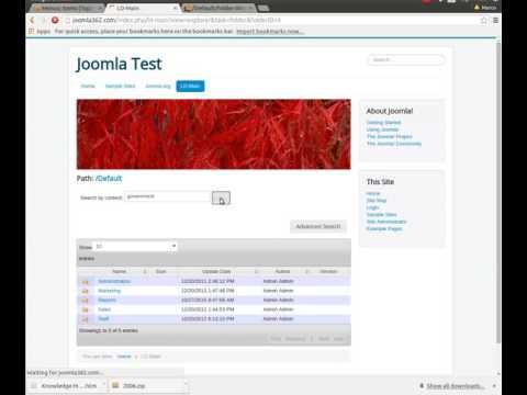 LogicalDOC Joomla Explorer 01/3