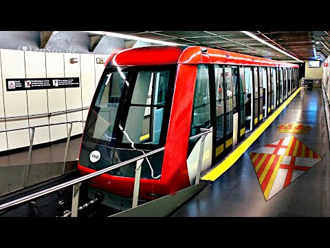 Metro System in Barcelona City.