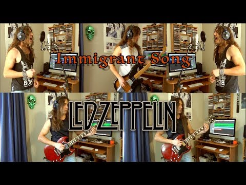 Immigrant Song - Led Zeppelin Cover By Carlos Molina