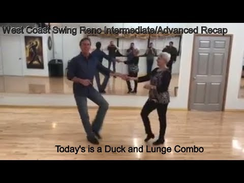 West Coast Swing Class Reno NV Advanced Lesson Review | Ballroom Dance Lessons In Reno NV