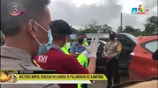 Histeris Minta Jenazah Keluarga di Pulangkan ke Kampung